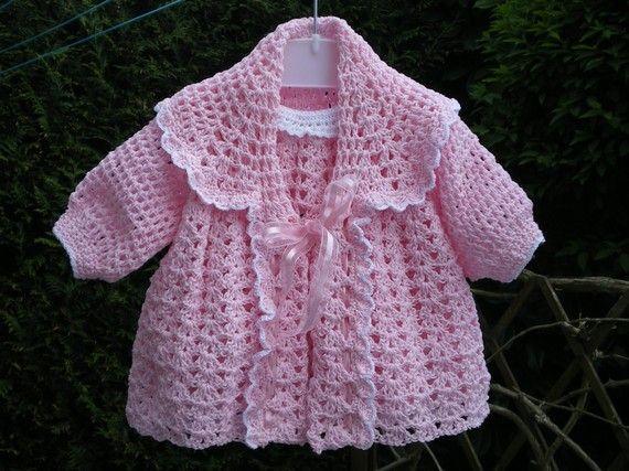 robes fillettes au crochet